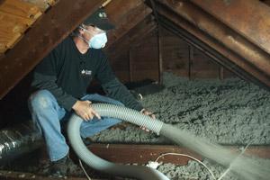 Blown Insulation in Walden