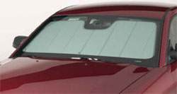 Auto windshield radiant barrier